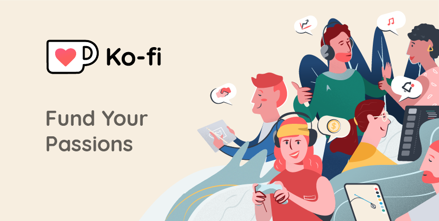 Ko-fi | One-time and monthly support from fans for the price of a coffee. Free. No Fees. Instant Payments